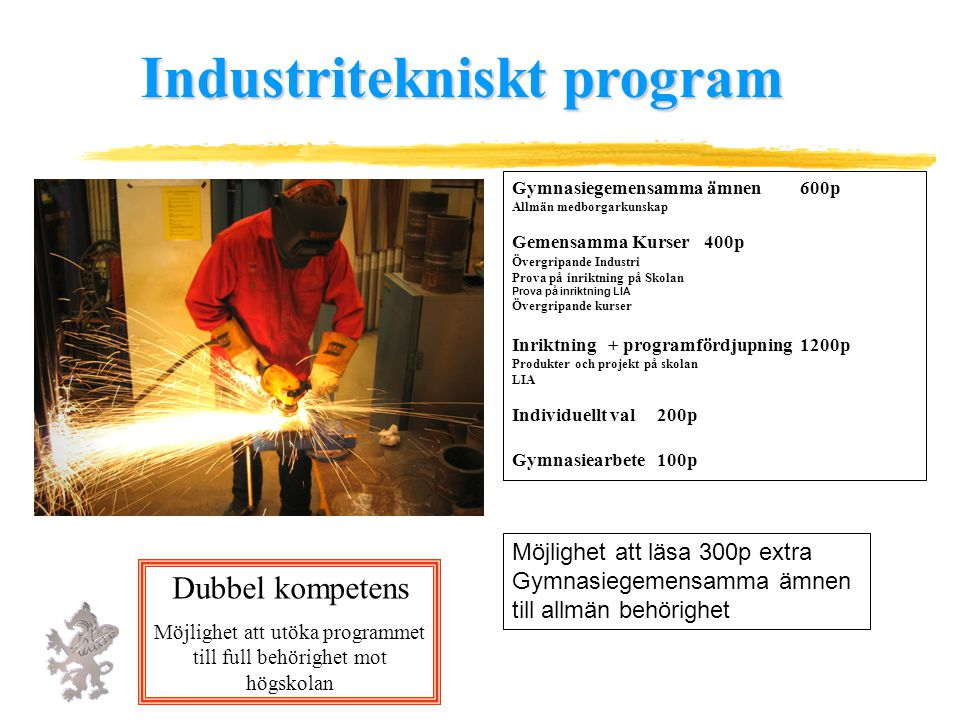 Industritekniskt program