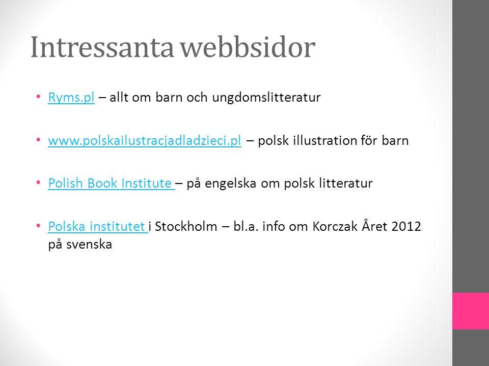 Intressanta webbsidor