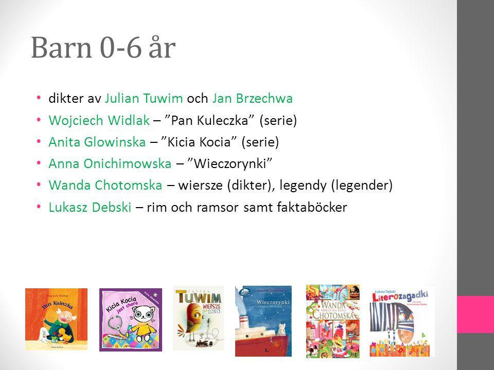 Barn 0-6 år dikter av Julian Tuwim och Jan Brzechwa
