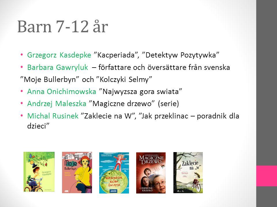 Barn 7-12 år Grzegorz Kasdepke Kacperiada , Detektyw Pozytywka