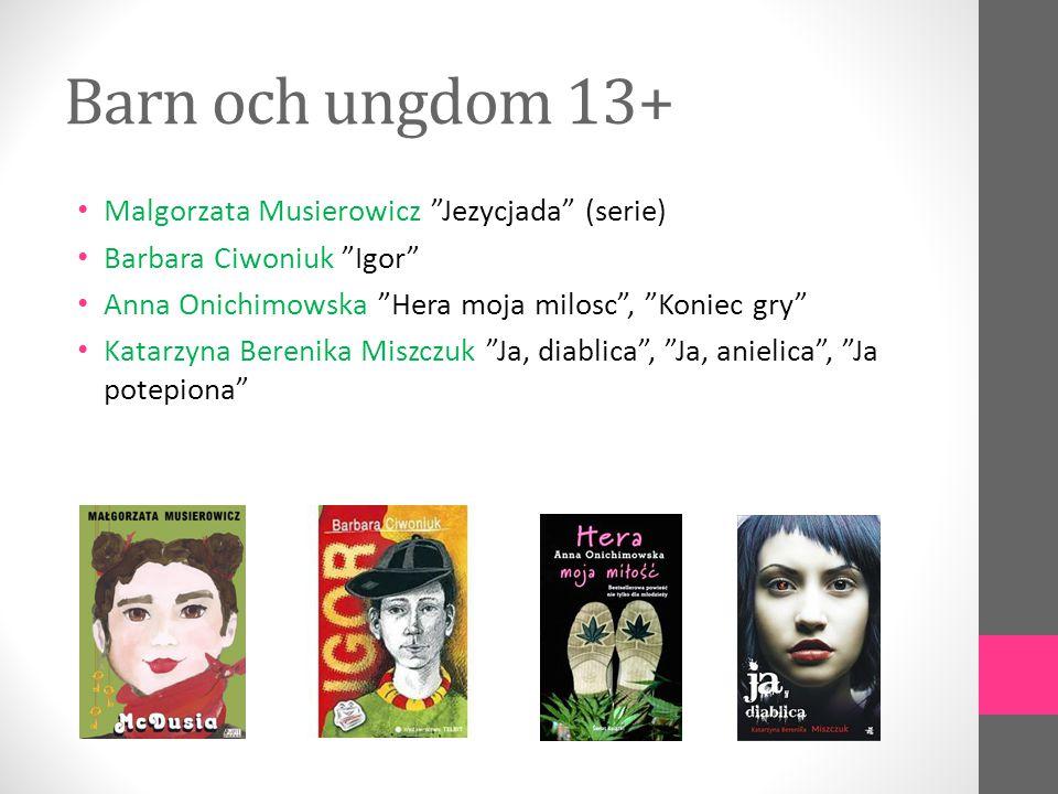 Barn och ungdom 13+ Malgorzata Musierowicz Jezycjada (serie)