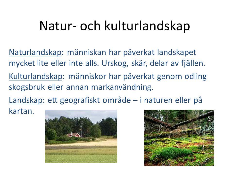 Natur- och kulturlandskap