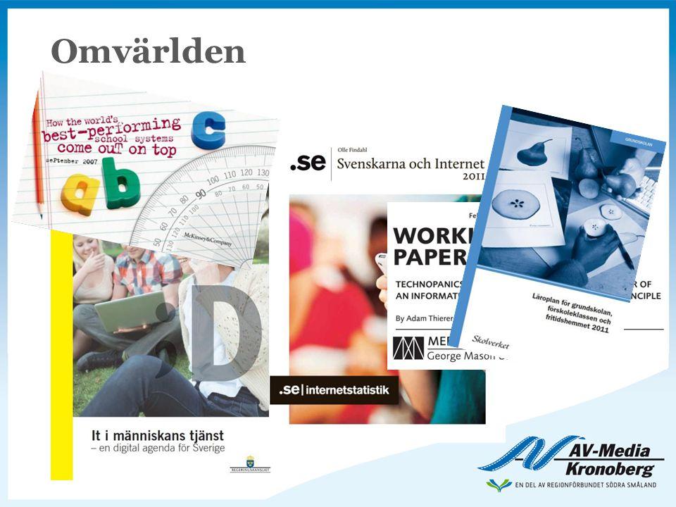 Omvärlden Utgångspunkten i vår presentation tar vi från den senaste forskningen samt regeringens direktiv och skrivelser.