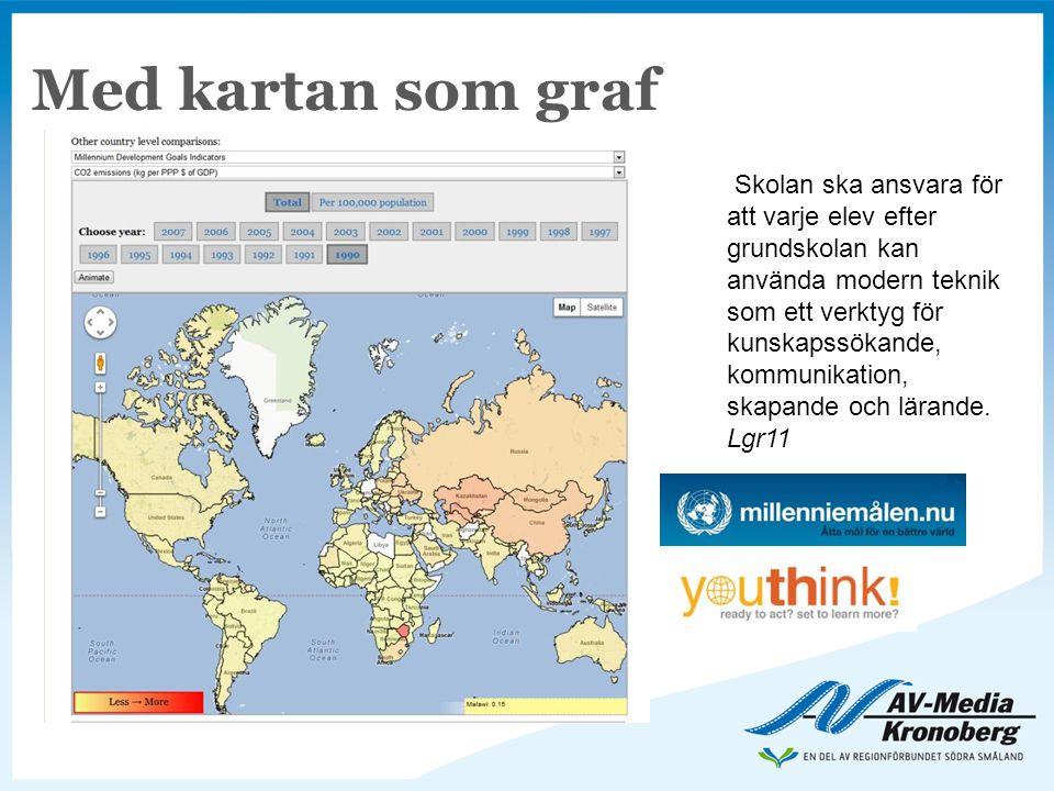 Med kartan som graf
