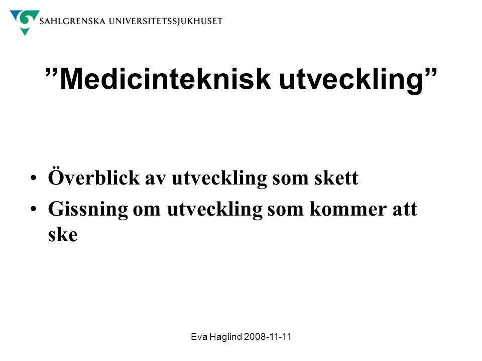 Medicinteknisk utveckling