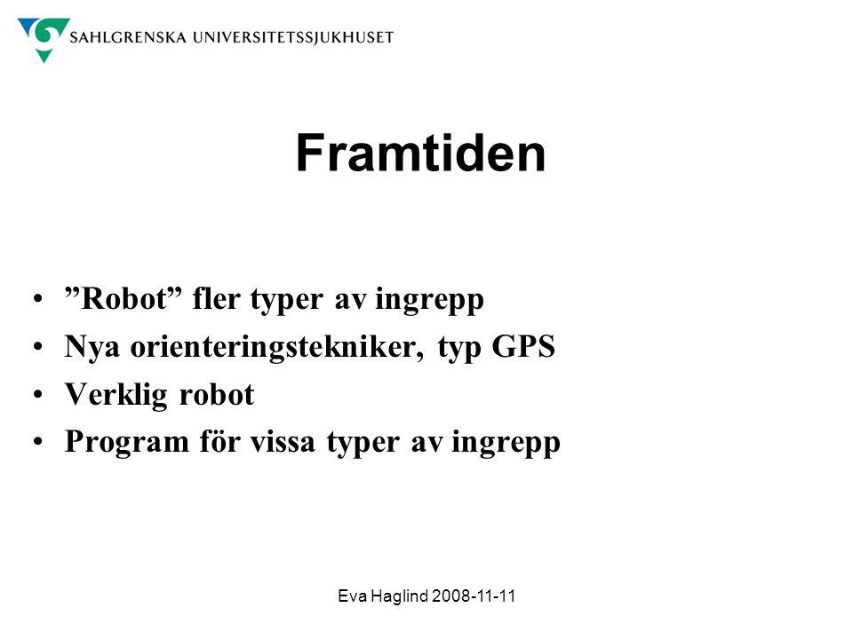 Framtiden Robot fler typer av ingrepp