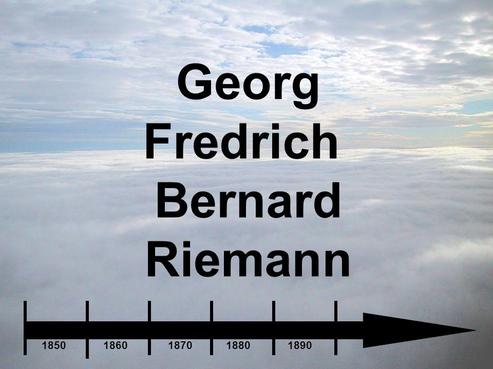 Georg Fredrich Bernard Riemann