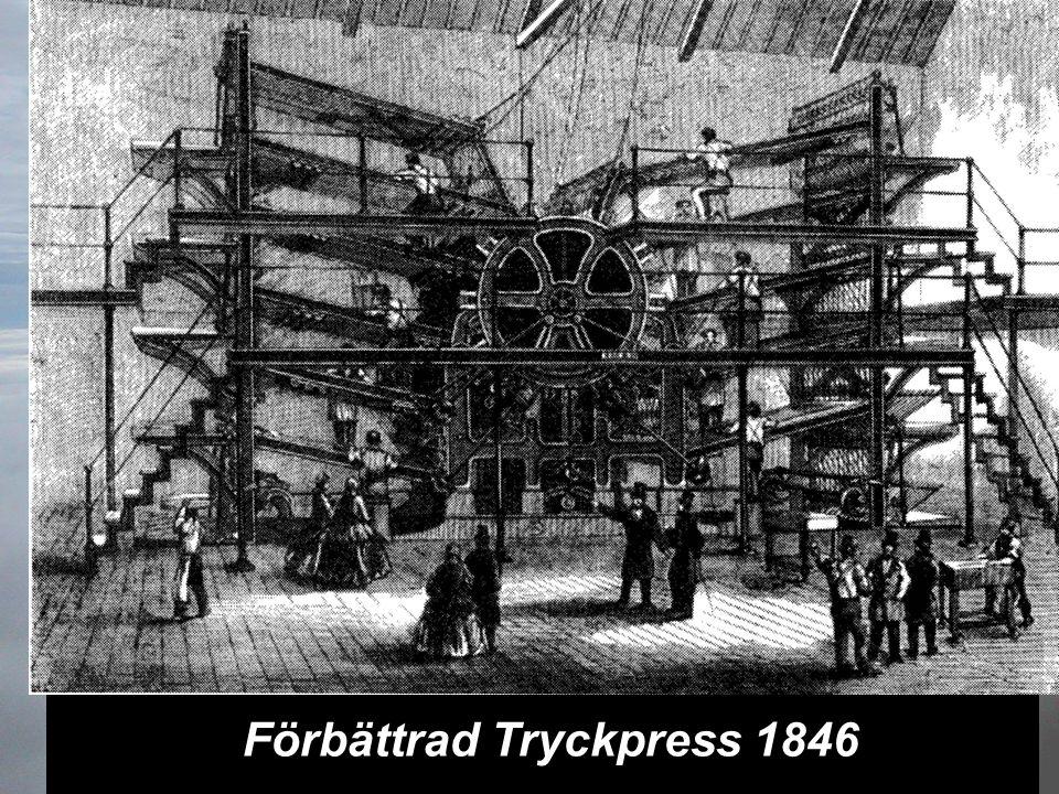 Förbättrad Tryckpress 1846