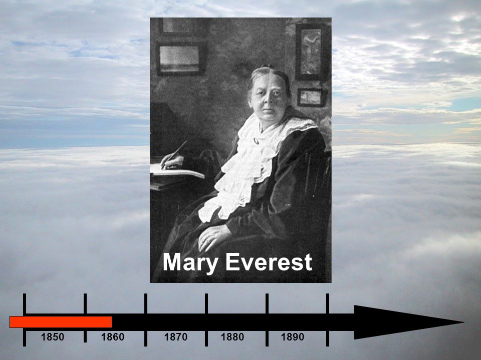 Mary Everest 1850 1860 1870 1880 1890