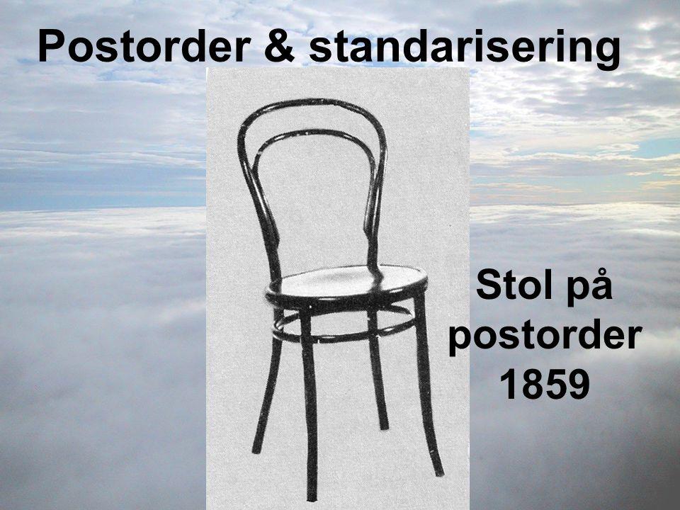 Postorder & standarisering