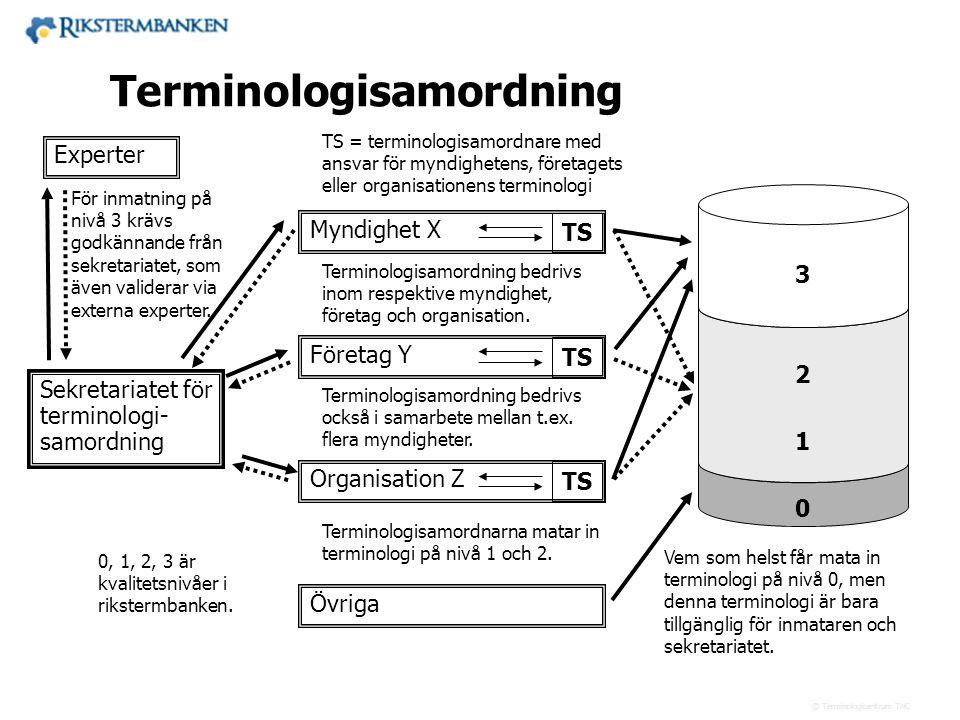 Terminologisamordning