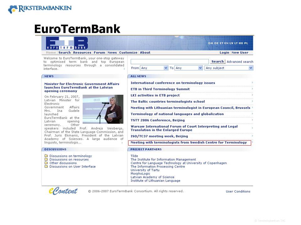 EuroTermBank x.x.