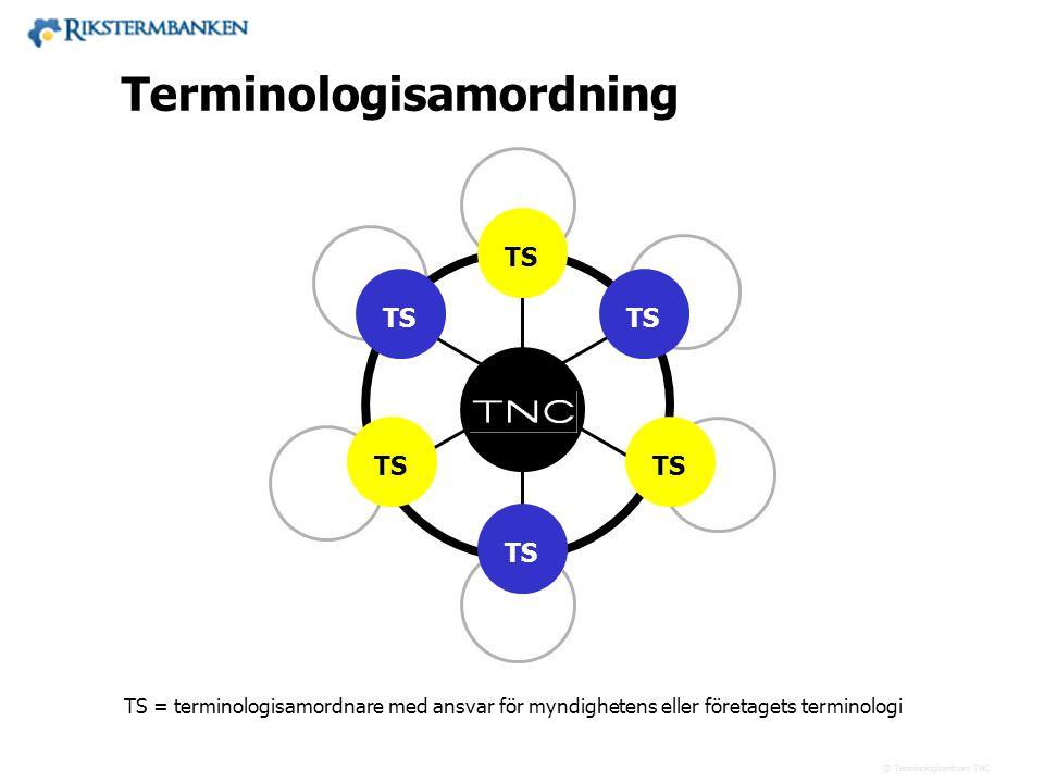 x.x Terminologisamordning TS TS TS TS TS TS