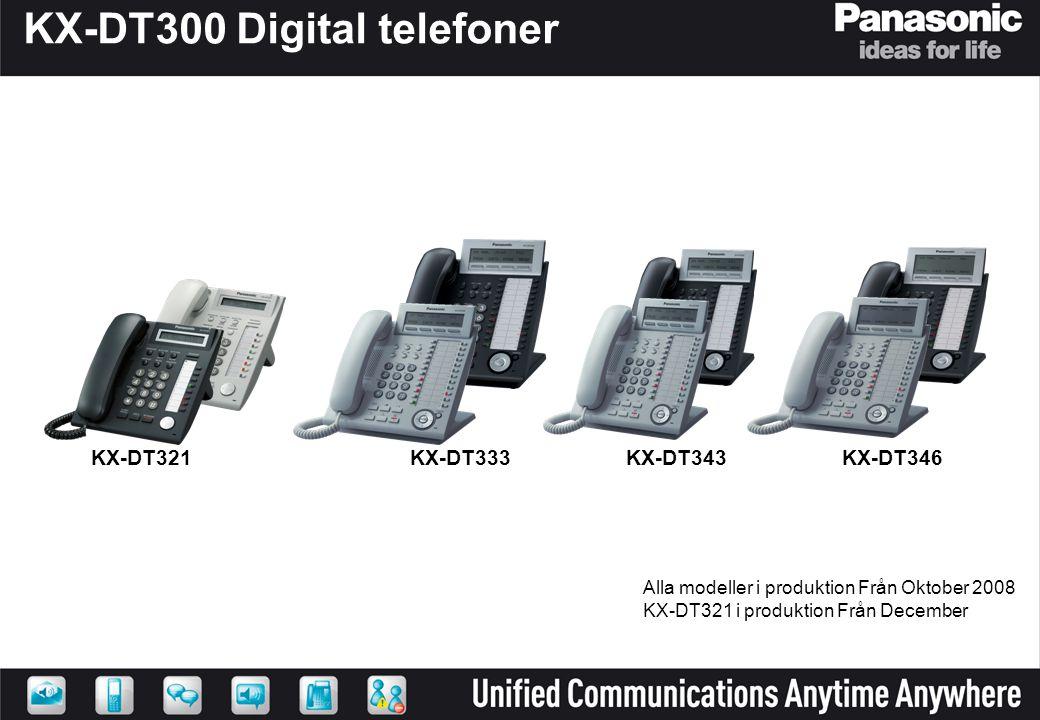 KX-DT300 Digital telefoner