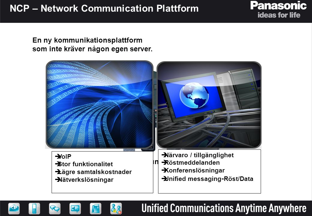 NCP – Network Communication Plattform