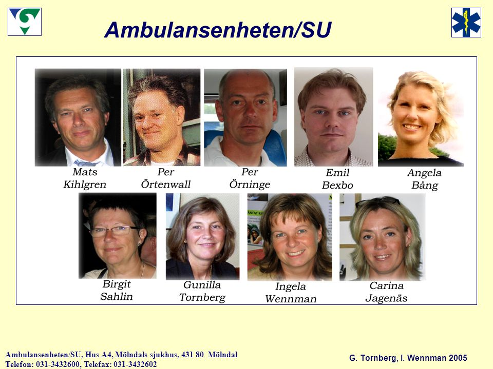 Ambulansenheten/SU