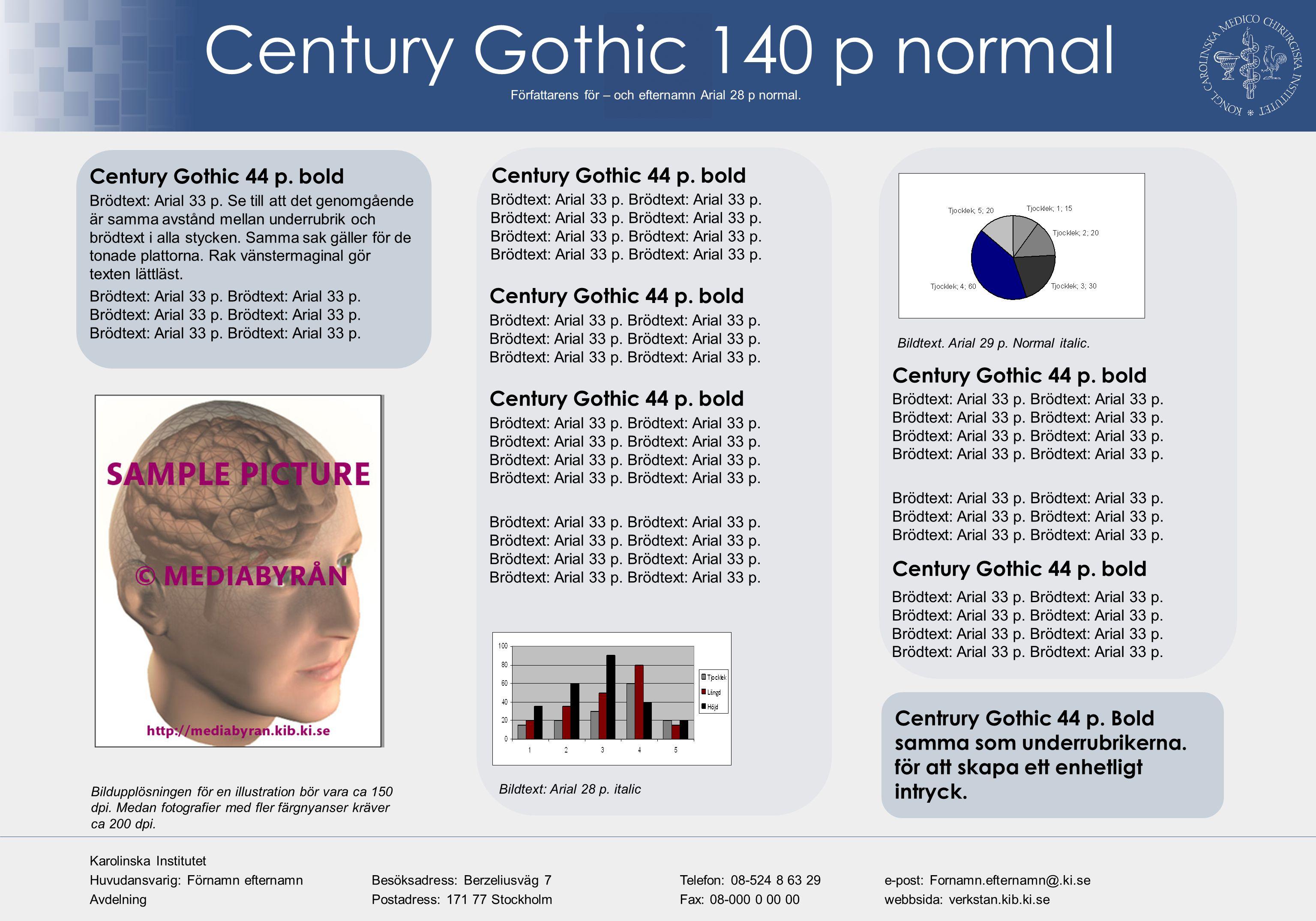 Century Gothic 140 p normal