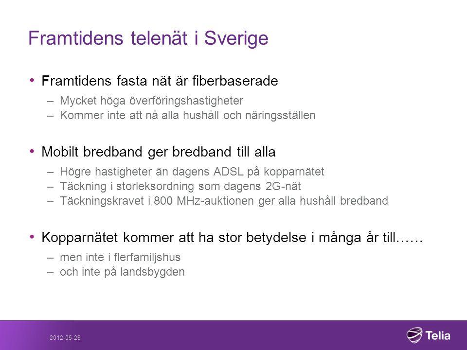 Framtidens telenät i Sverige