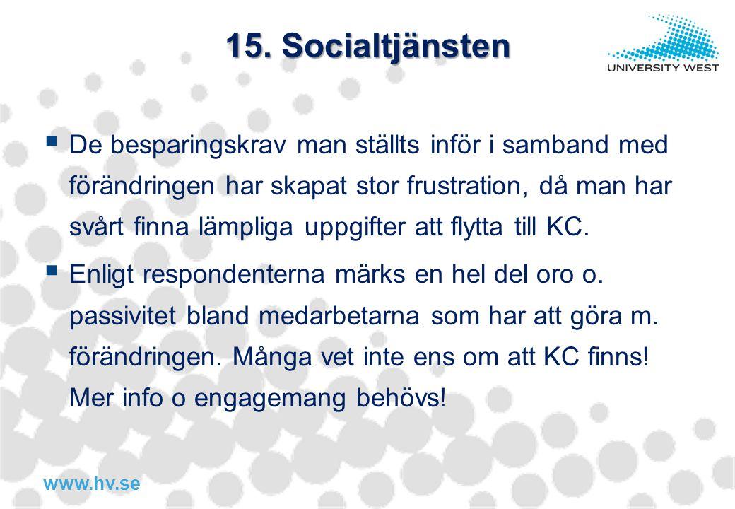 15. Socialtjänsten