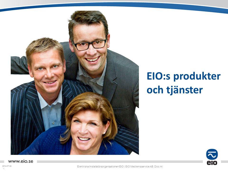 EIO:s produkter och tjänster