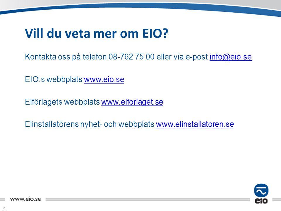 Vill du veta mer om EIO