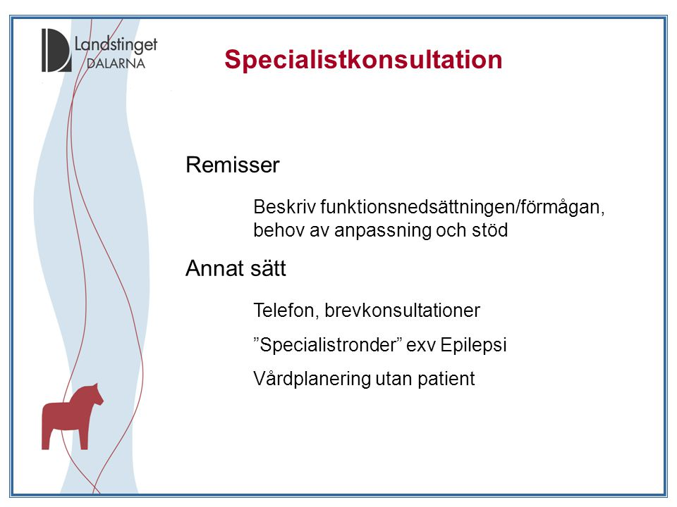 Specialistkonsultation
