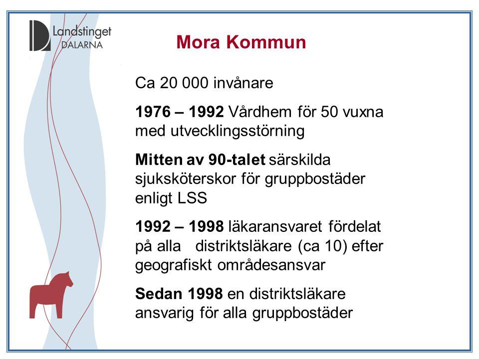 Mora Kommun Ca 20 000 invånare