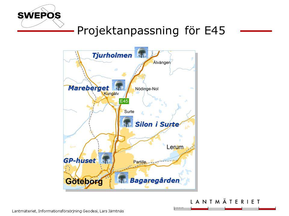 Projektanpassning för E45