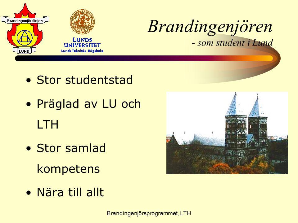 Brandingenjören - som student i Lund