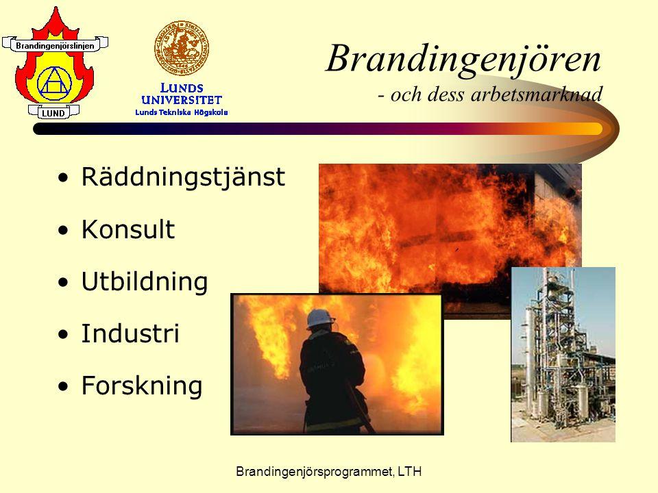 Brandingenjören - och dess arbetsmarknad