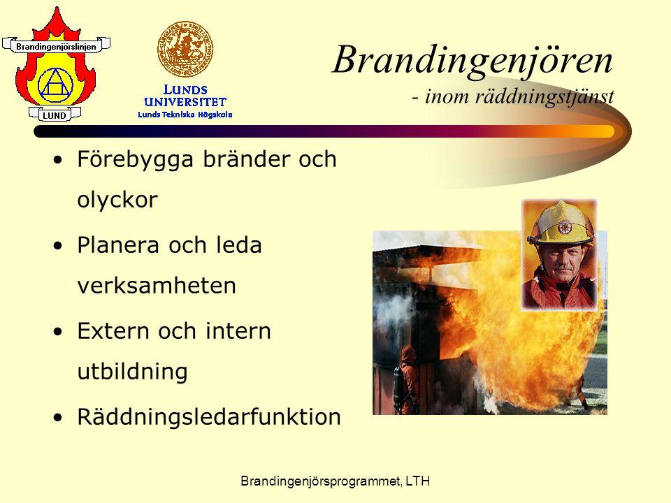 Brandingenjören - inom räddningstjänst