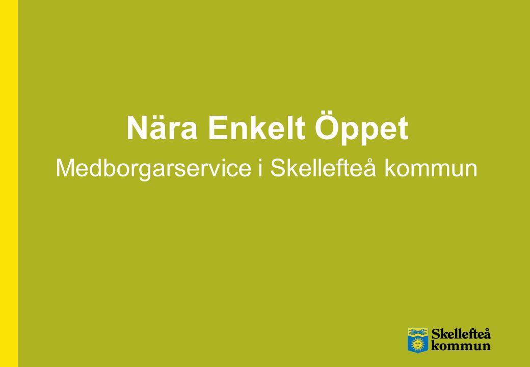 Medborgarservice i Skellefteå kommun