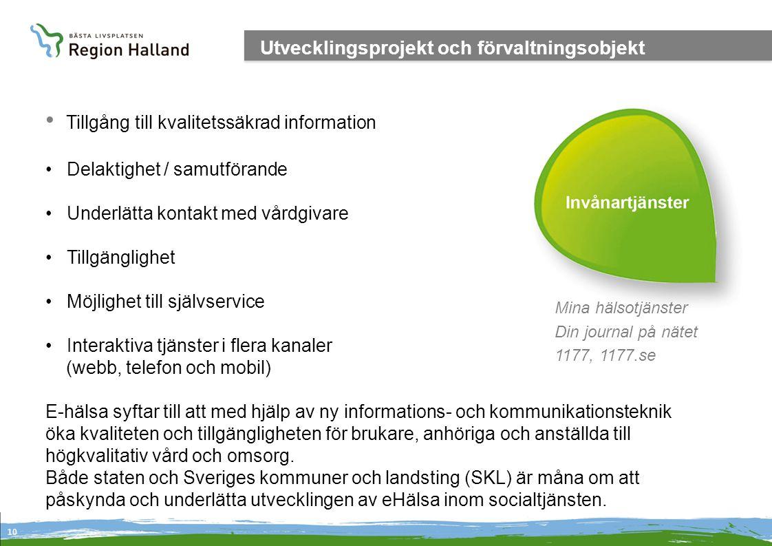 Tillgång till kvalitetssäkrad information