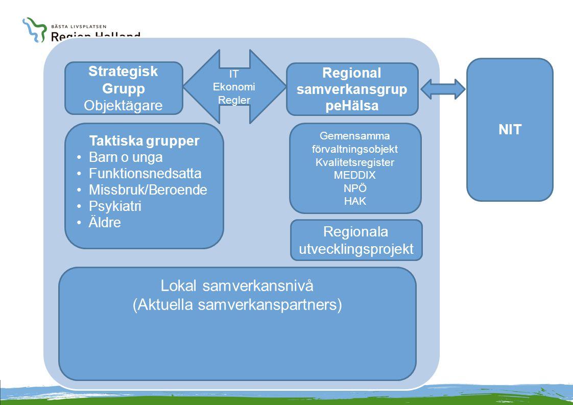 Regional samverkansgruppeHälsa