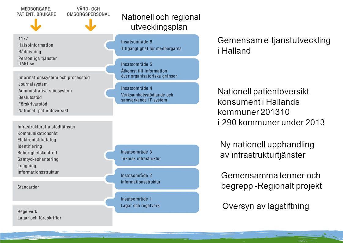 Gemensam e-tjänstutveckling i Halland
