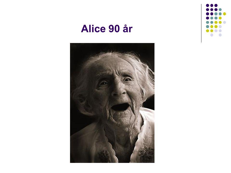 Alice 90 år