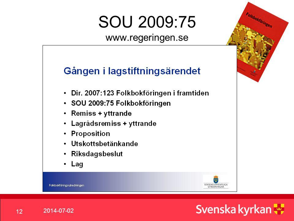 SOU 2009:75 www.regeringen.se 2017-04-03