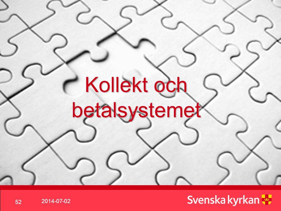 Kollekt och betalsystemet