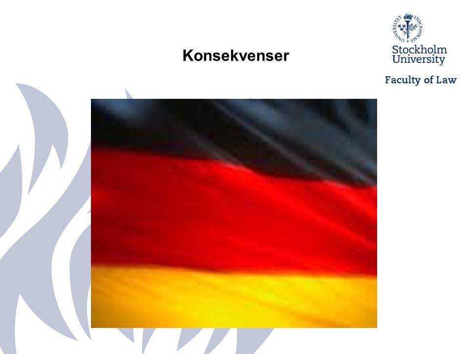 Konsekvenser Studie från institutet Forsa den 2 juni 2008 angående genomförande av datalagringsdirektivet i Tyskland.