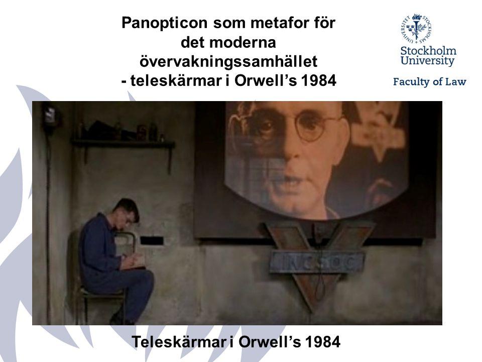 Panopticon som metafor för det moderna övervakningssamhället