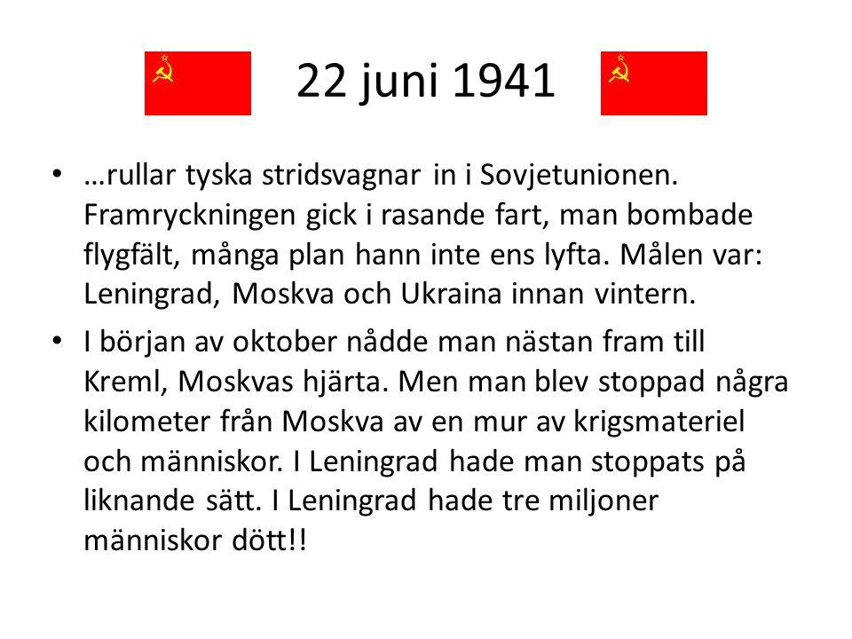 22 juni 1941