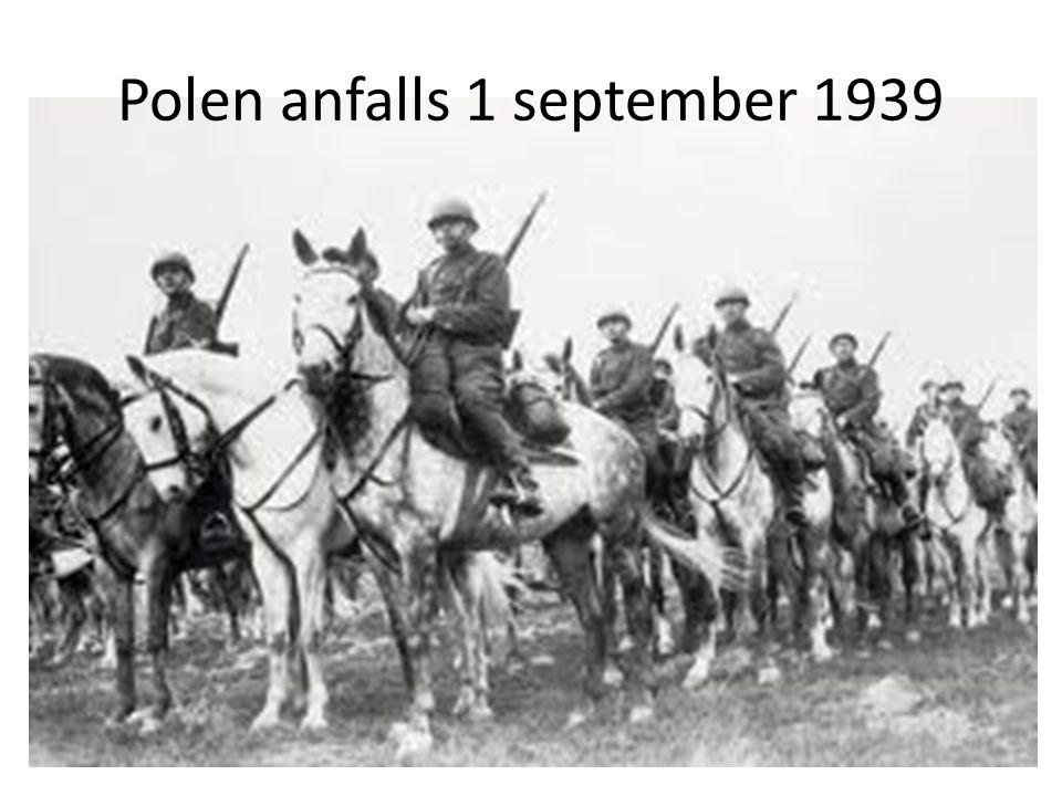 Polen anfalls 1 september 1939