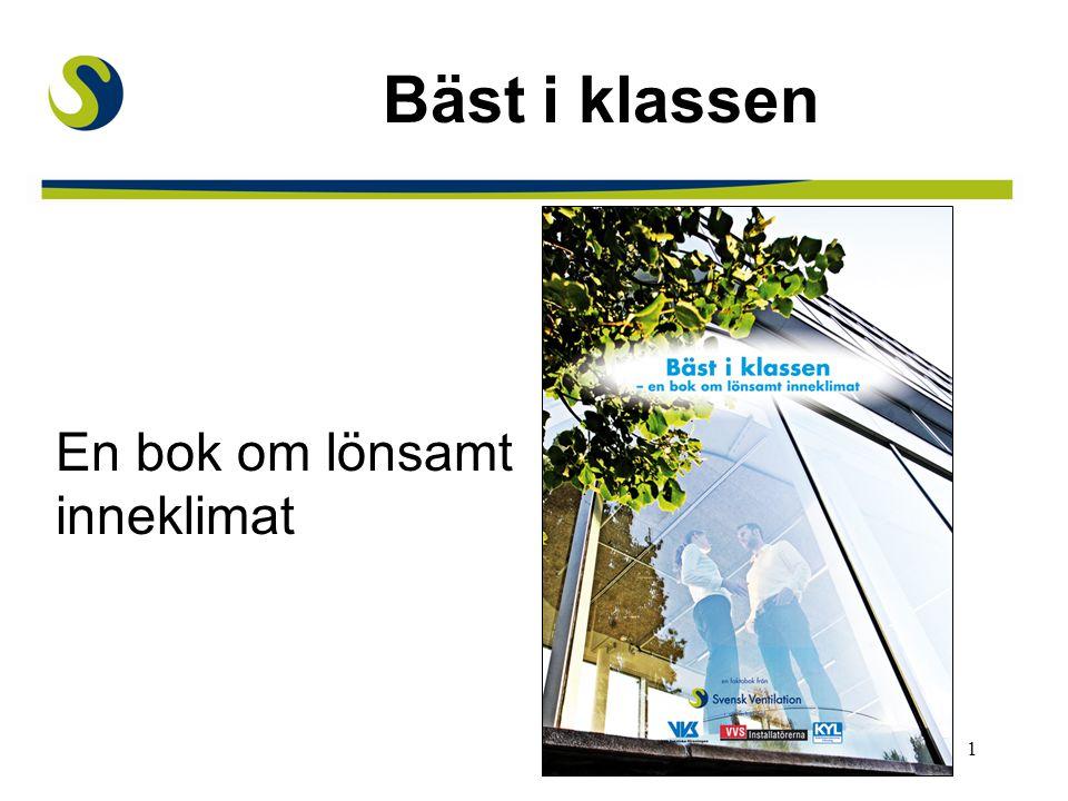 Bäst i klassen En bok om lönsamt inneklimat Huvudbudskap