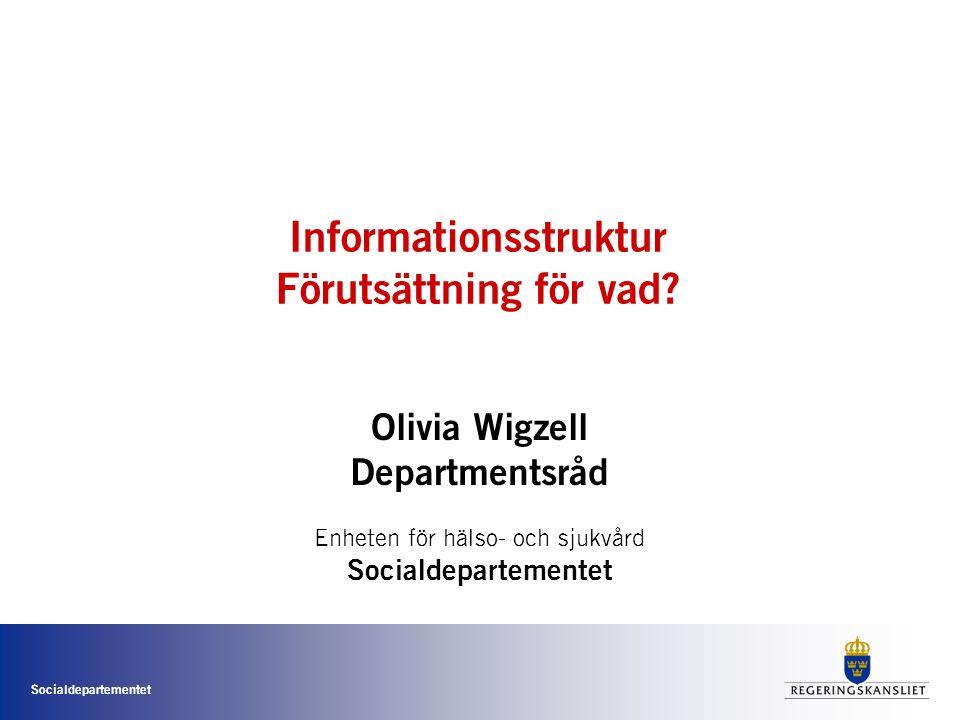 Informationsstruktur Förutsättning för vad
