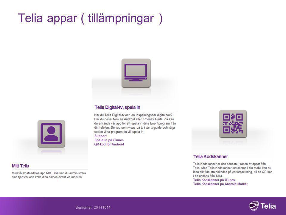 Telia appar ( tillämpningar )