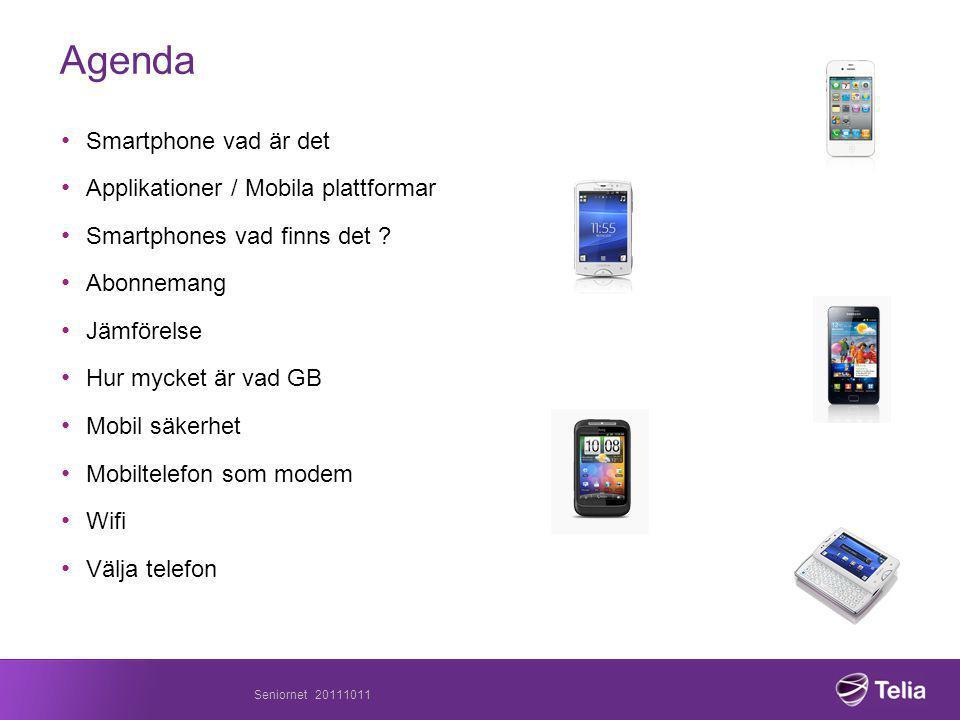 Agenda Smartphone vad är det Applikationer / Mobila plattformar
