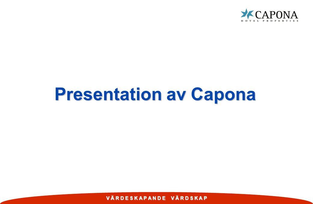 Presentation av Capona