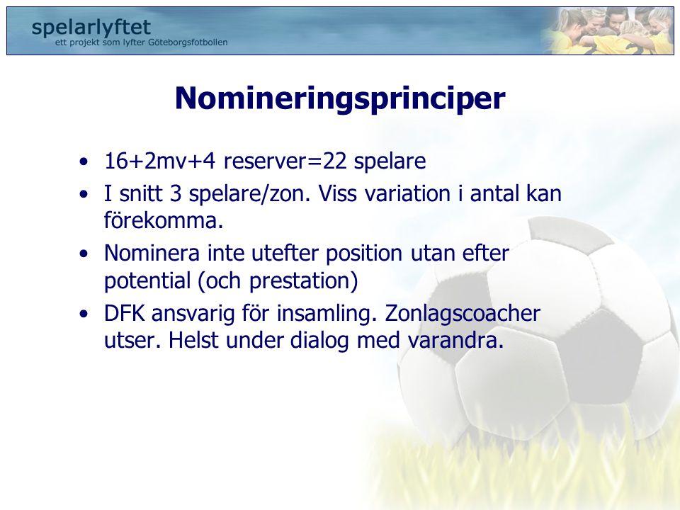 Nomineringsprinciper