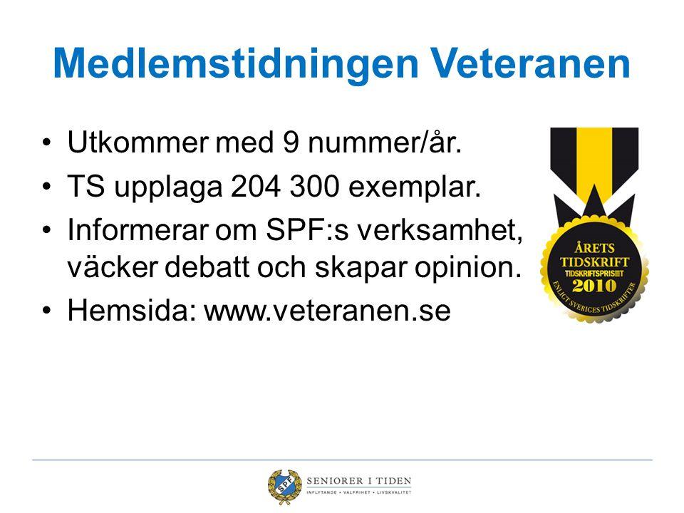 Medlemstidningen Veteranen