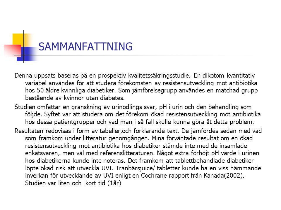 SAMMANFATTNING